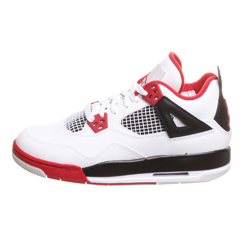 Jordan Brand - Air Jordan 4 Retro (GS) Fire Red