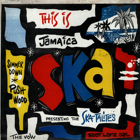 V.A. - This Is Jamaica Ska - Presenting The Ska-Talites