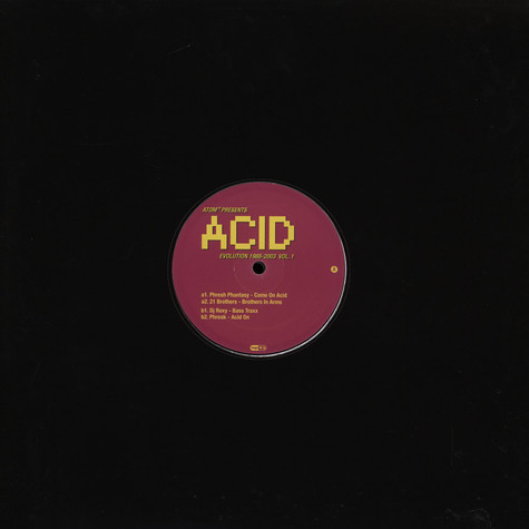Atom TM - Acid Evolution 1988 -2003 Vol.1