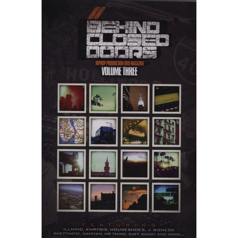 V.A. - Behind Closed Doors Hip Hop Production DVD Magazine Volume 3