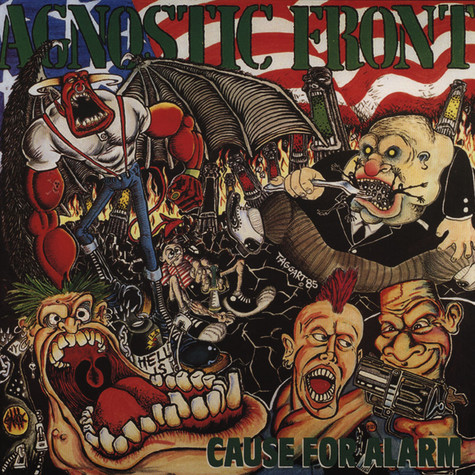 Agnostic Front - Cause For Alarm Black Vinyl