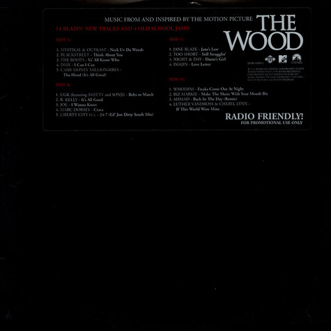V.A. - Music From And Inspired By The Motion Picture The Wood