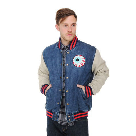 Mishka - Keep Watch Quilted Varsity Jacket