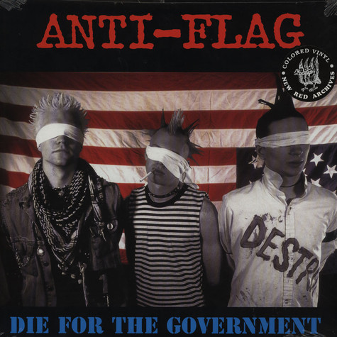 Anti-Flag - Die For The Government Colored Vinyl Edition