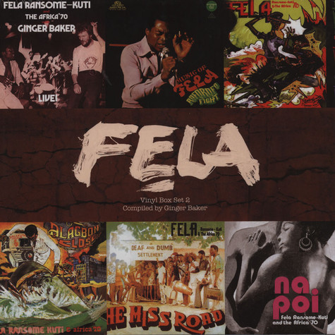 Fela Kuti - 6 Vinyl Box Set Part 2