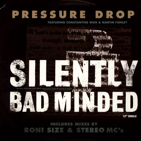 Pressure Drop - Silently Bad Minded