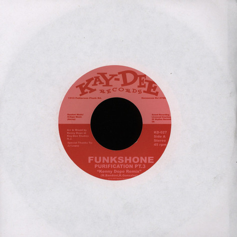 Funkshone - Purification Part 3 Kenny Dope Mix