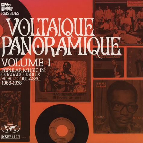 Voltaique Panoramique - Volume 1: Popular Music In Ouagdougou & Bobo-Dioulasso 1968-1978