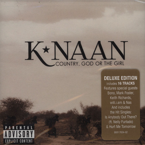 K'naan - Country God Or The Girl Deluxe
