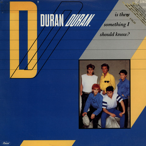 Duran Duran - Is There Something I Should Know? (Monster Mix)