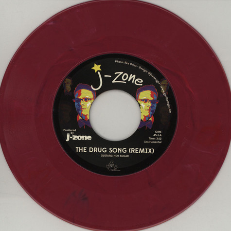 J-Zone - The Drug Song Remix / The Fox Hunt Feat. Breeze Brewin' of The Juggaknots, Prince Paul & Oxygen