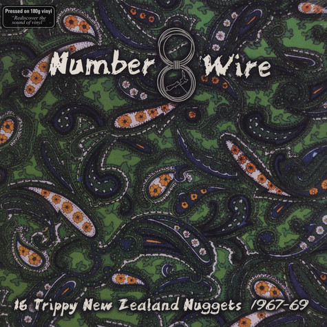 V.A. - Number 8 Wire - 16 Trippy New Zealand Nuggets 1967-69