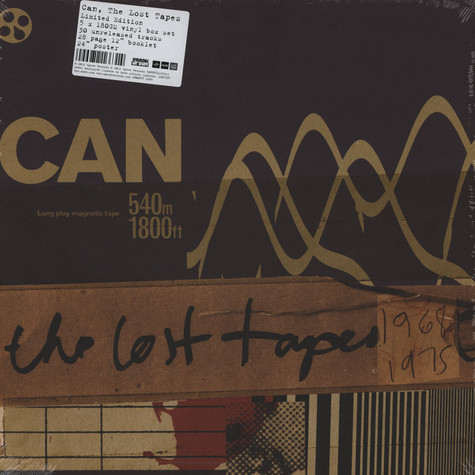 Can - The Lost Tapes Box Set