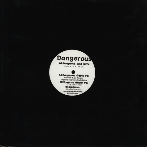 Persian & Dj Texsta (Same People Productions) - Dangerous Remastered And Remixed