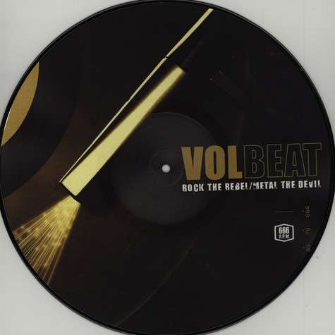 Volbeat - Rock The Rebel, Metal The Devil Picture Disc