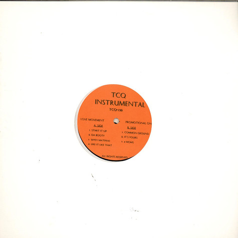 A Tribe Called Quest - TCQ Instrumental