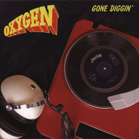 Oxygen - Gone Diggin Remix feat. Gensu Dean Black Vinyl Edition