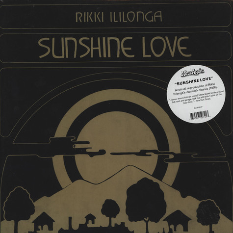 Rikki Illilonga - Sunshine Love