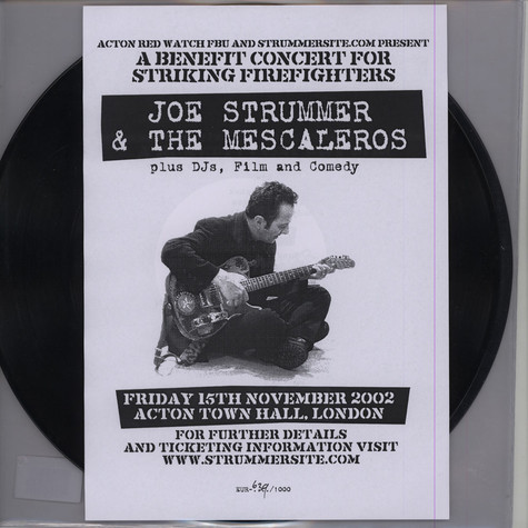 Joe Strummer & The Mescaleros - Live At Acton Limited Edition