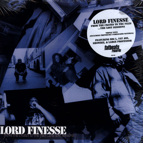 Lord Finesse - From The Crates To The Files ... The Lost Sessions