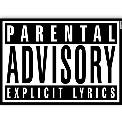Parental Advisory - Poster