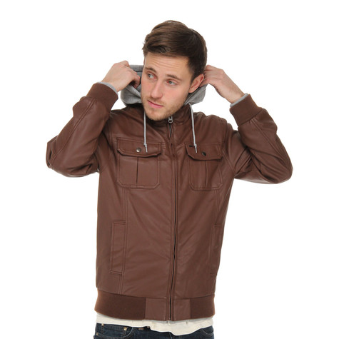Obey - Rapture Faux Leather Jacket