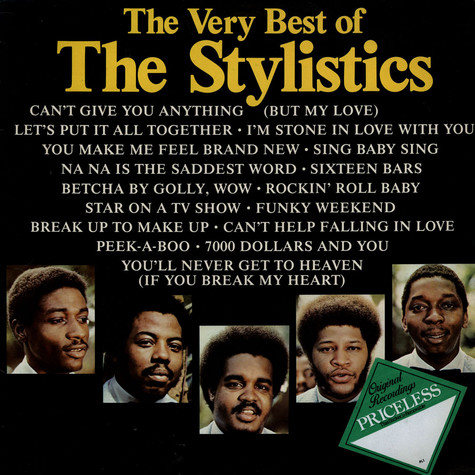 Stylistics, The - The Very Best Of The Stylistics