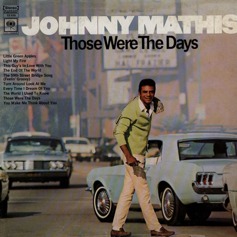 Johnny Mathis - Those Were The Days