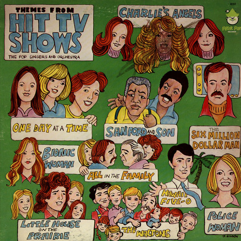 Pop Singers And Orchestra - Themes From TV Hit Shows