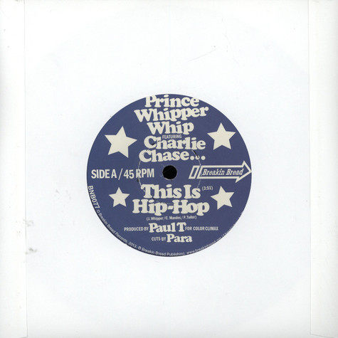 Prince Whipper Whip & Charlie Chase - This Is Hip Hop