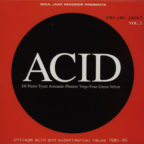 V.A. - Acid - Can You Jack? LP 2