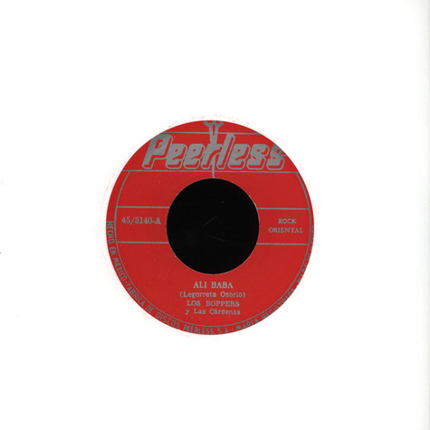 Los Boppers / La Lupe - Ali Baba /  Fever