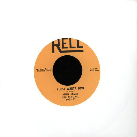 King James - Just Wanta To Love / Wild Wooly Woman
