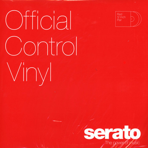 "Serato - 12"" Control Vinyl Performance Series"