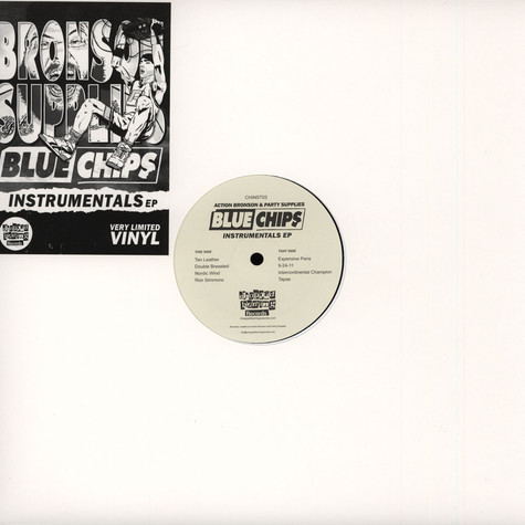 Action Bronson & Party Supplies - Blue Chips Instrumentals