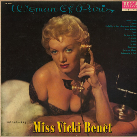 Vicki Benet - Woman Of Paris