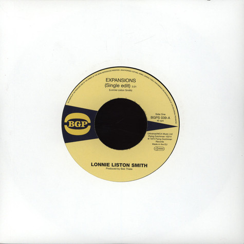 Lonnie Liston Smith - Expansions / A Chance For Peace