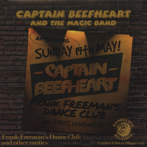 Captain Beefheart - Frank Freeman�s Dance Club