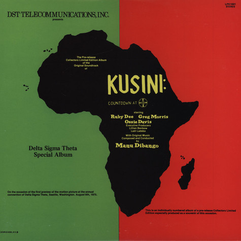 Manu Dibango - OST Countdown At Kusini