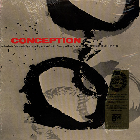 Miles Davis / Stan Getz /  Lee Konitz - Conception