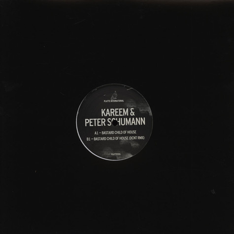 Kareem & Peter Schumann - Bastard Child of House