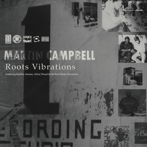 Martin Campbell, Raphie Arenas, Alien Dread & Hi-Tech Roots Dynamics - Roots Vibrations (Showcase)
