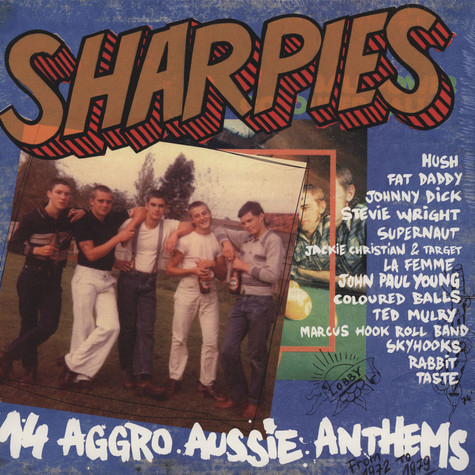V.A. - Sharpies - 14 Aggro Aussie Anthems From 1972 To 1979
