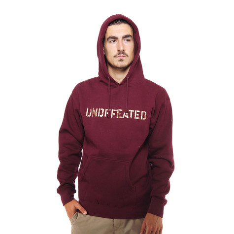 Undefeated - Camo Hoodie