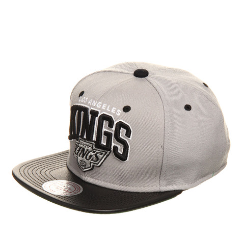 Mitchell & Ness - Los Angeles Kings NHL Leather Team Arch Snapback Cap