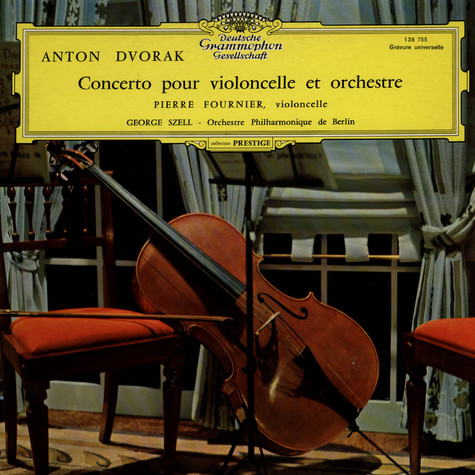 Antonin Dvorak / Pierre Fournier / Berliner Philharmoniker / George Szell - Cello Concerto