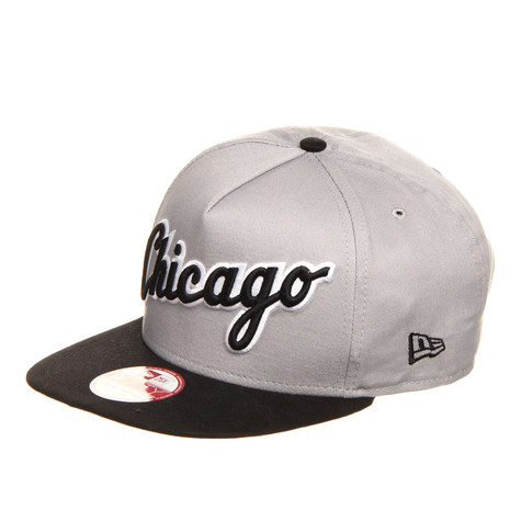 961bf82339c New Era - Chicago White Sox MLB Turnover 2 9Fifty Snapback Cap (Grey ...