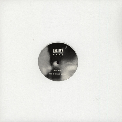 KVB, The - Immateiral Visions Remixes EP