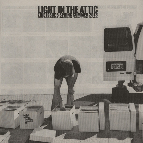 Light In The Attic Records Zine - Issue Five - Spring Summer 2013
