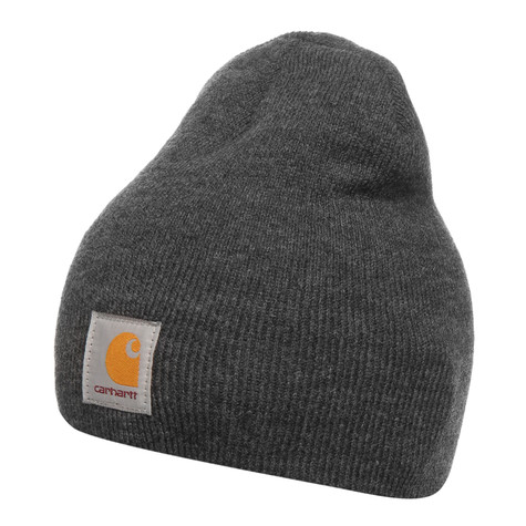 8057a494968e6 Carhartt WIP - Acrylic Knit Hat (Dark Grey Heather)